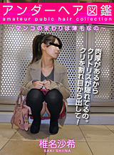 Shiina Saki Around the pubic hair picture book - pussy of thinning hair -